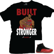 Flu-Game-12s-Shirt-Built-Stronger(Sneaker)